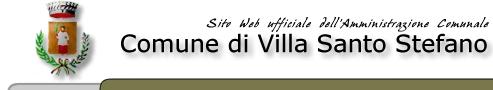 Comune di Villa Santo Stefano - sito web ufficiale dell'Amministrazione comunale